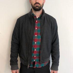 Armani Exchange Bomber Jacket Grey/Black size L